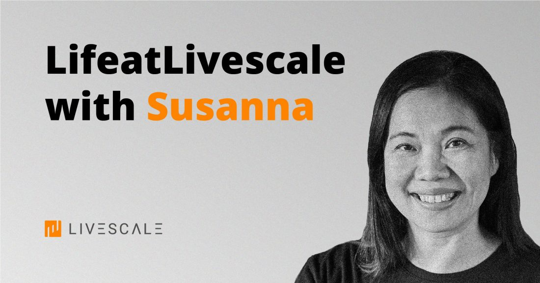 Life at Livescale with Susanna - Banner
